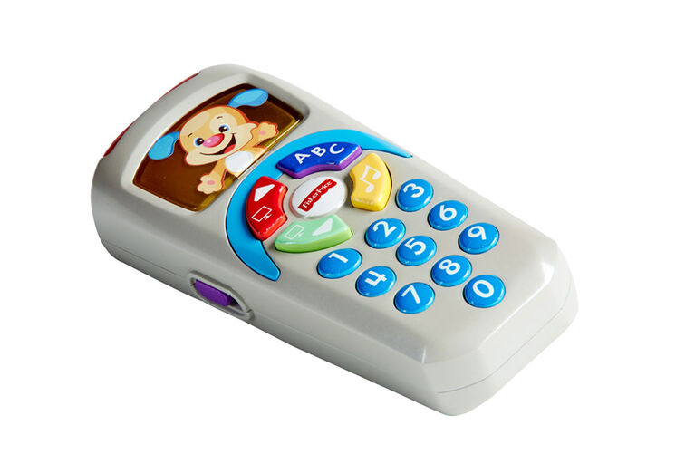 Fisher-Price Laugh & Learn Puppy's Remote - French Edition