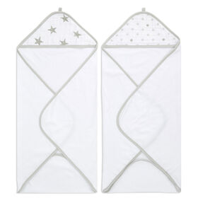 Aden Essentials - Dusty Hooded 2 Pack Towel