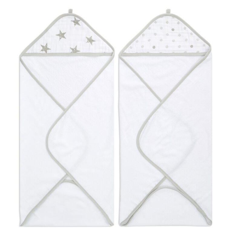 Aden Essentials - Dusty Hooded 2 Pack Towel