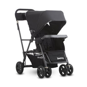 Joovy Caboose Ultralight Graphite Stand-on Tandem Stroller - Black