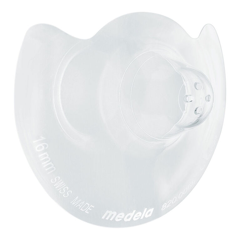 Medela 16mm Contact Nipple  Shield with case.