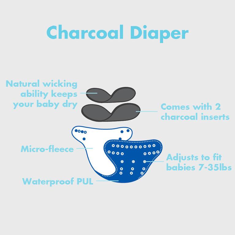 Lil Helper 6-Pack Cloth Diapers