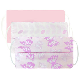 Kushies Kids' Mask 3 Pack - pink