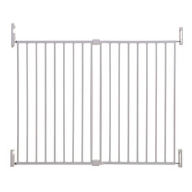 Dreambaby Broadway Xtra Wide Gro-Gate - Blanche.