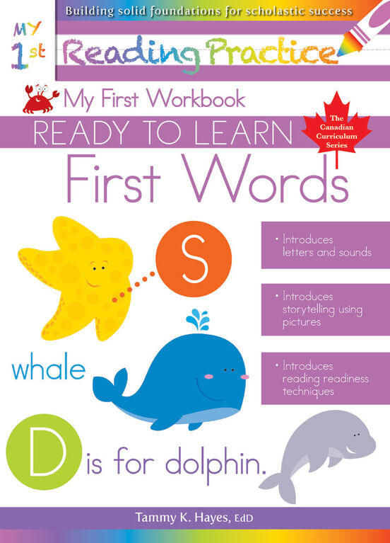 My First Words Workbook - English Edition