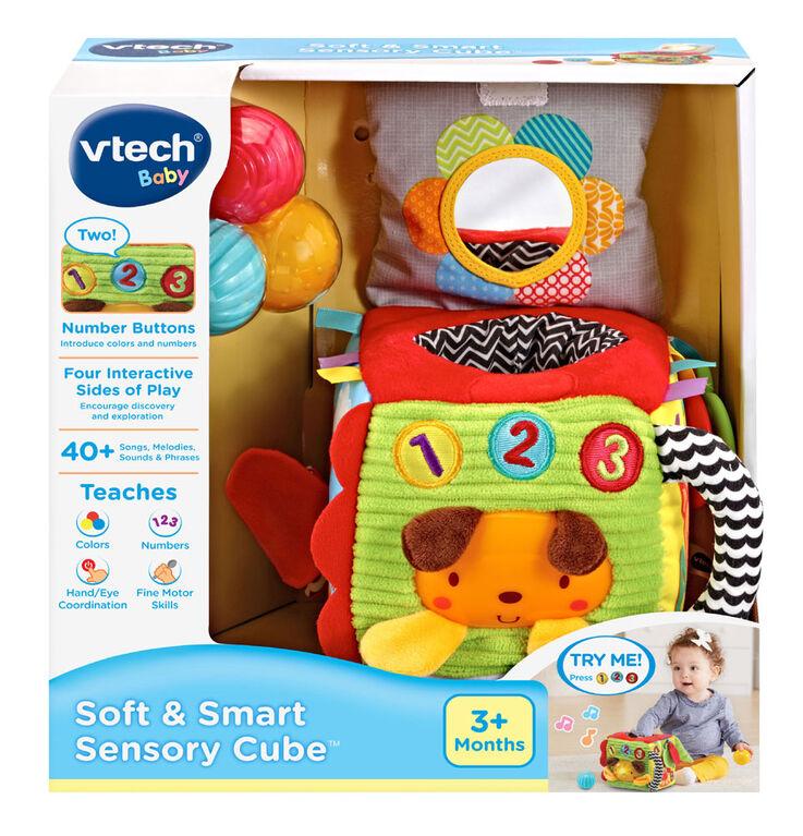 VTech Soft & Smart Sensory Cube - English Edition