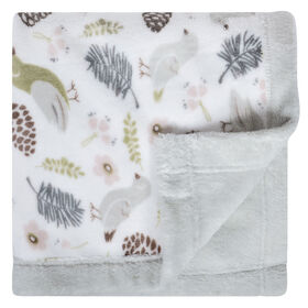 Perlimpinpin Plush Blanket - Birds