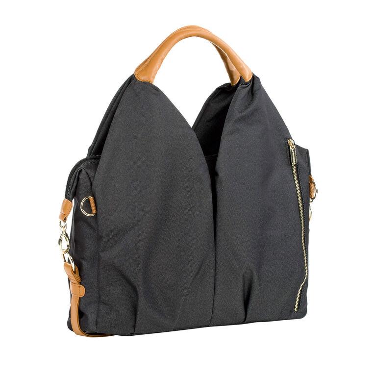 Lassig Green Label sac  à couche Neckline - denim noir.
