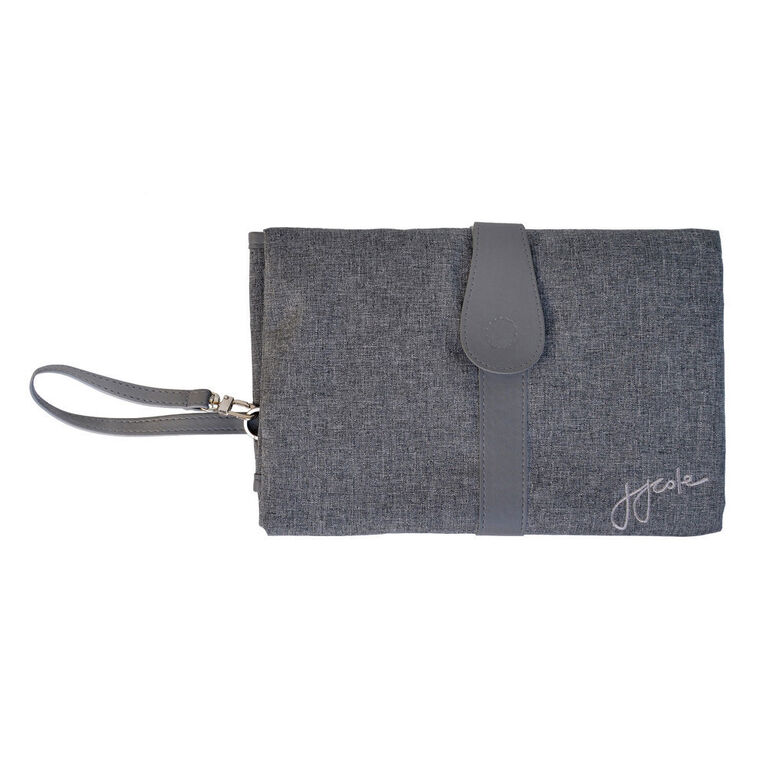 JJ Cole Changing Clutch - Heather Grey