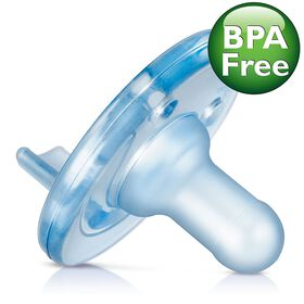 Philips AVENT - BPA Free Soothie Pacifier, 3 Months+, Blue, 2-Pack