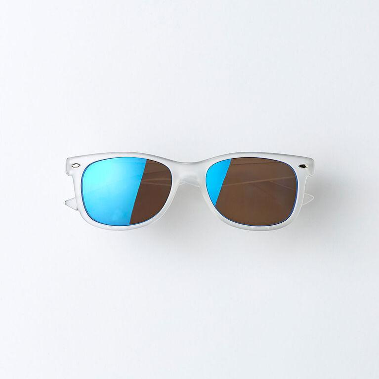 classic sunnies, o/s kids sunglasses - white