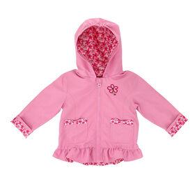Northpeak Baby Girls Fashion Jacket- Candy Pink - 24 Months