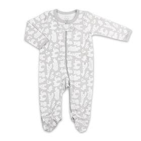 Dormeuse Koala Baby - Couvre-tout animal gris imprimé, Preemie.