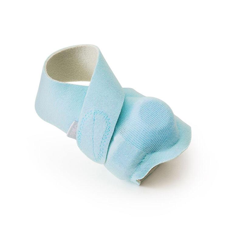Owlet Bas en Tissu Bleus.
