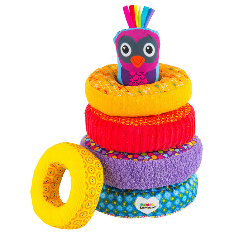 Lamaze Rainbow Stacking Rings | Babies R Us Canada