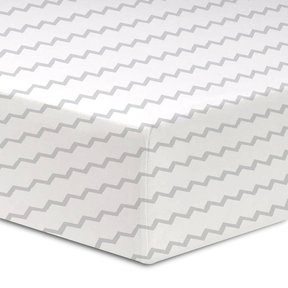 """Fitted Crib Sheet Knitted Cotton 100/% Fit Standard Mattress Soft Durable 28x52/""""."""