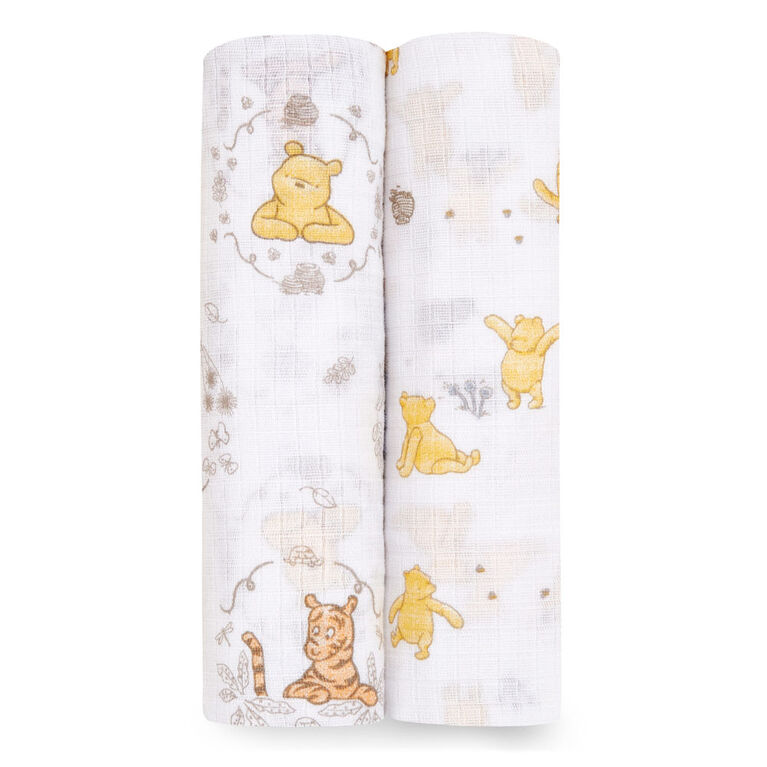 Disney 2-Packs Swaddle - Pooh