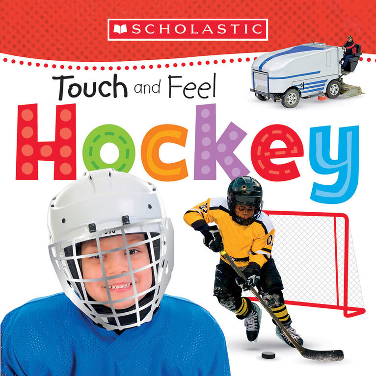 Early Learners Touch And Feel Hockey - Édition anglaise