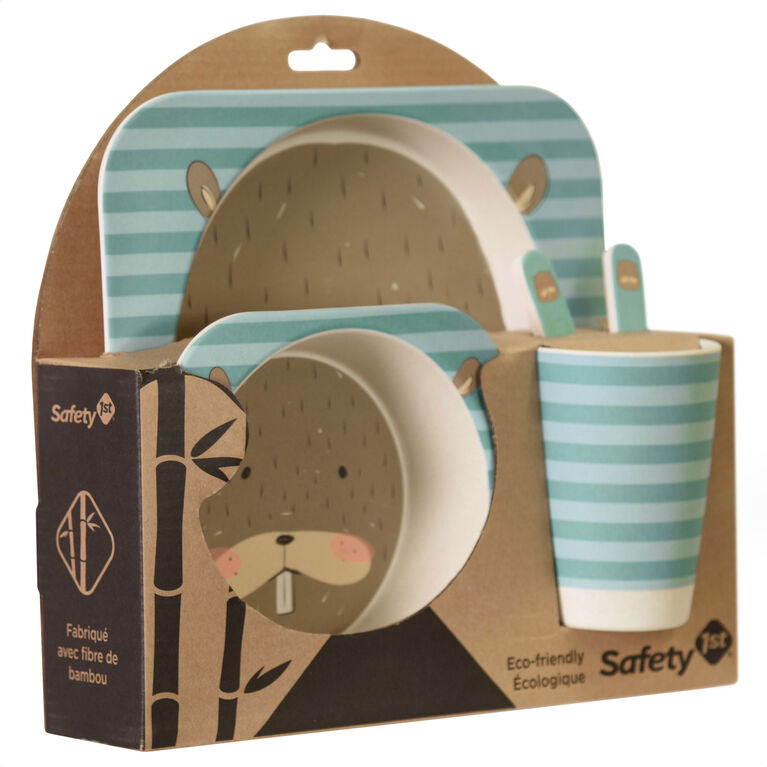 Emballage-cadeau en bambou Castor de Safety 1st.