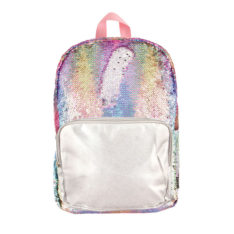 Fashion Angels - Magic Sequin Backpack - Pastel Gradient