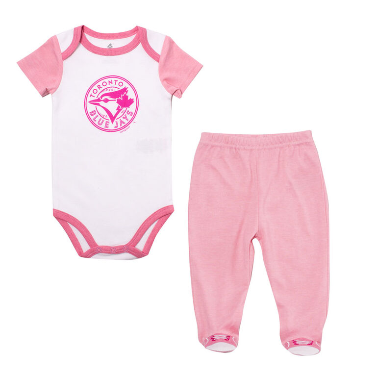 Snugabye - MLB - Bodysuit With Pant Set - 12-18 Months