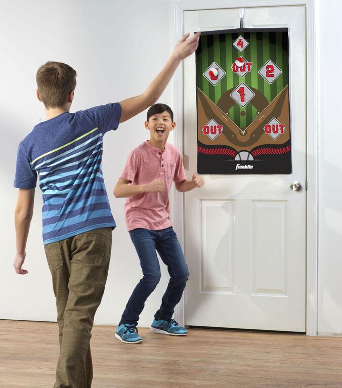 Jeu de baseball intérieur pour porte Franklin Sports