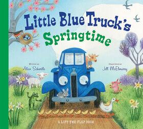 Le printemps du petit camion bleu