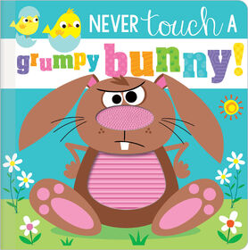 Never Touch a Grumpy Bunny! - English Edition
