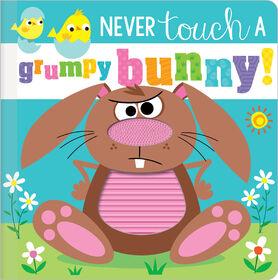 Ne touchez jamais un lapin grincheux! -Édition anglaise