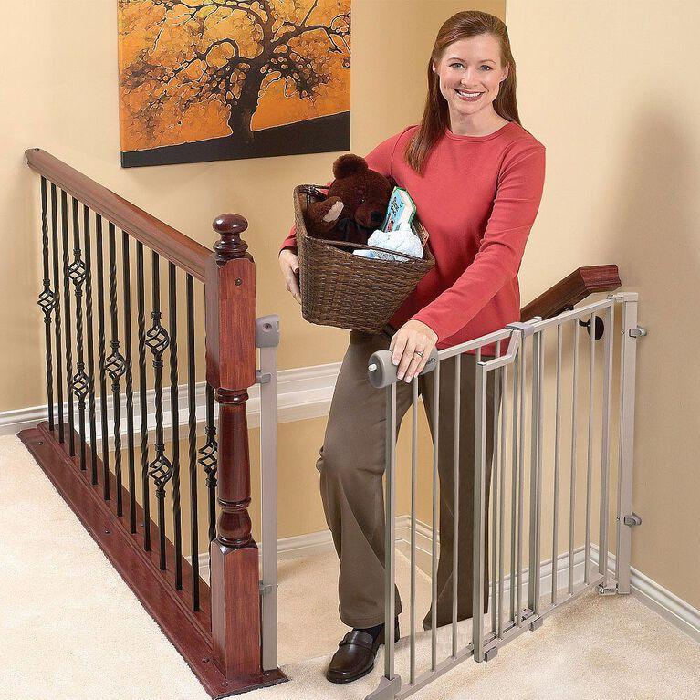Barrière pour le haut des escaliers Secure Step de Evenflo.