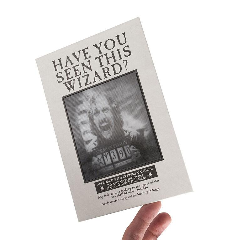 Cahier lenticulaire Harry Potter - La Gazette du Sorcier.