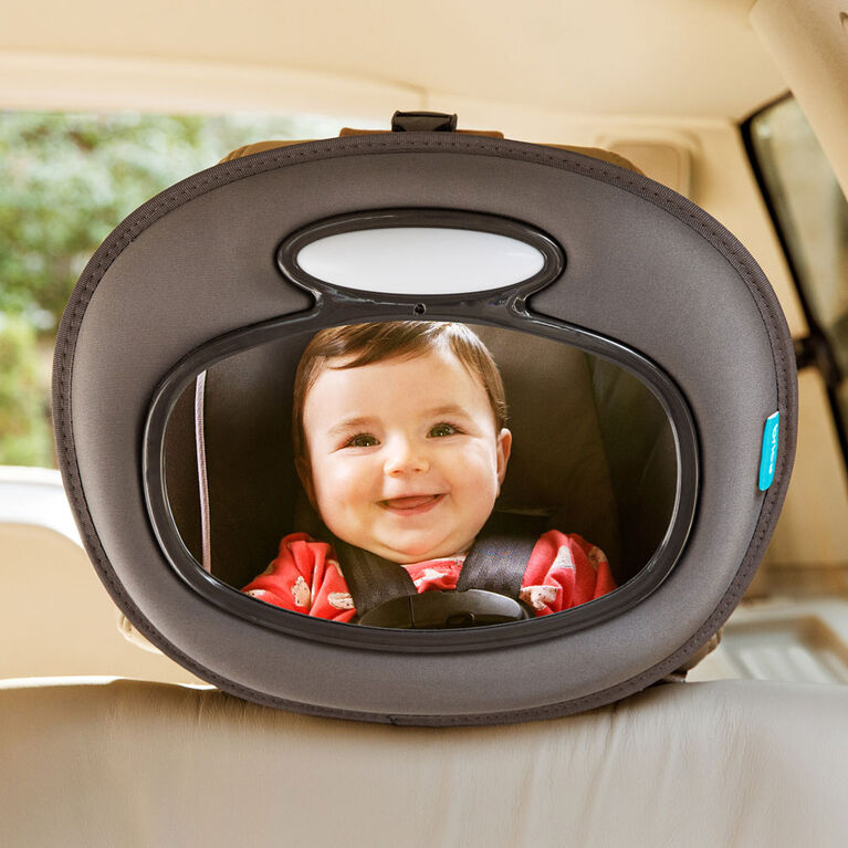 Brica - Miroir de voiture musical jour/nuit