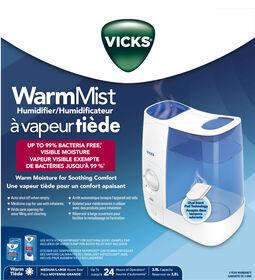 Humidificateur à vapeur tiède Vicks.