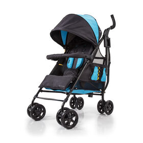 Poussette pratique 3Dtote de Summer Infant - Bleu Royal.