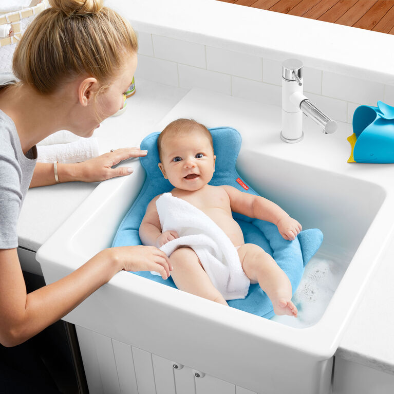 Skip Hop - Support pour bain au lavabo Moby Softspot Sink Bather.