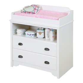 Fundy Tide Changing Table- Pure White