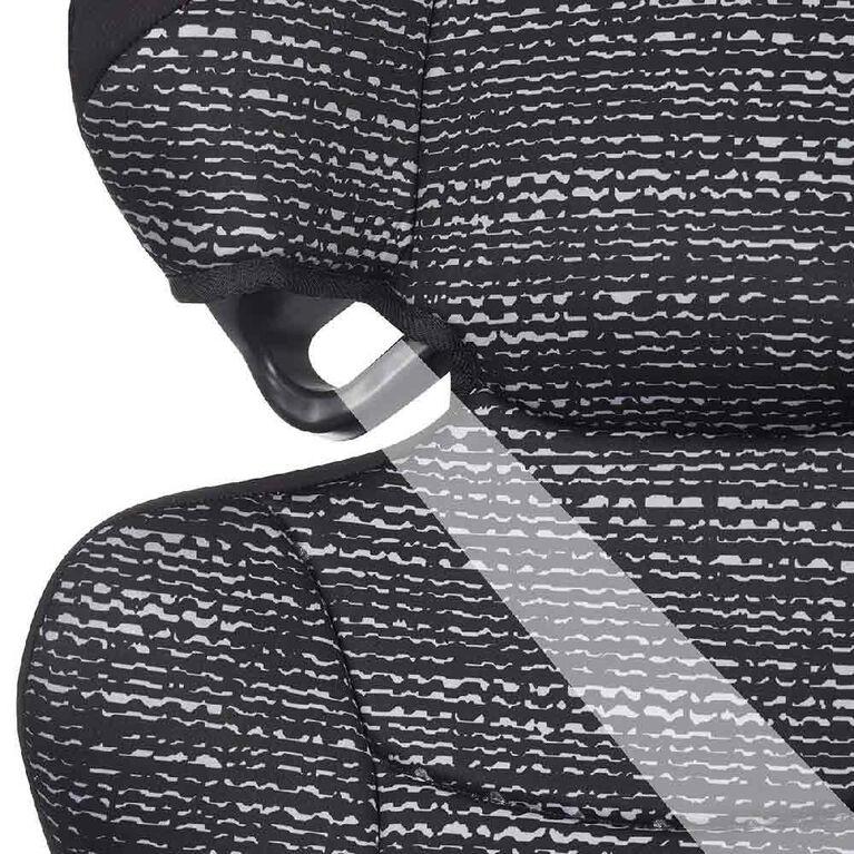 Siège d'appoint à haut dossier à positionnement de ceinture Big Kid Amp Evenflo - Static Black - Notre exclusivité