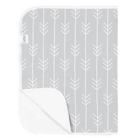 Kushies - Waterproof Changing Pad - Grey Arrows