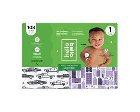 Hello Bello - Club Diaper Cars/City - Size 1