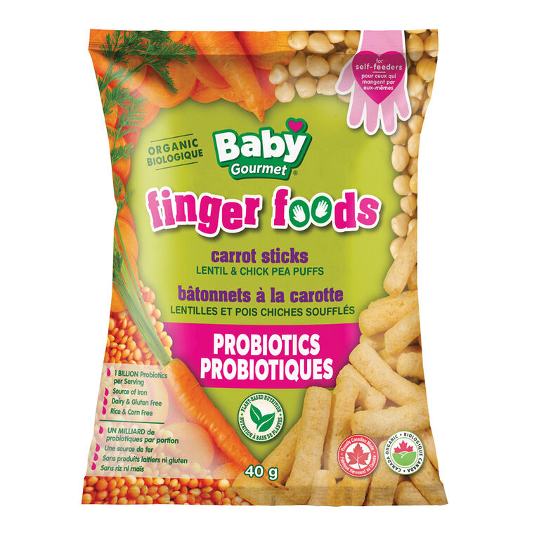 Baby Gourmet Carrot Sticks