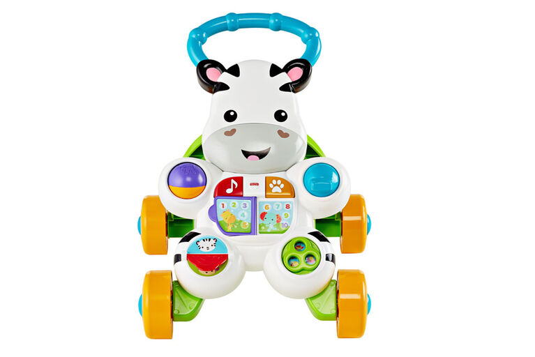 Fisher-Price Learn with Me Zebra Walker - English Edition