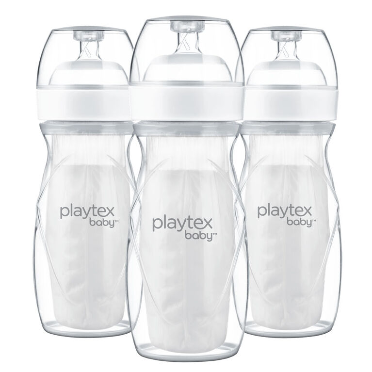 Playtex Baby Natural Nurser Bottle - 8oz - 3 Pack