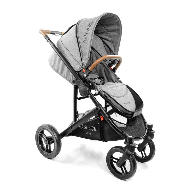 StrollAir SOLO Single Stroller that converts to double tandem