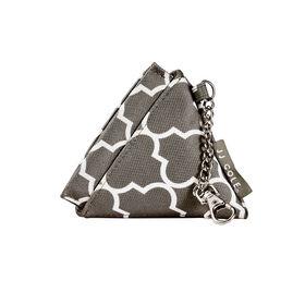 JJ Cole Vegan Leather Pacifier Pyramid - Stone Arbour