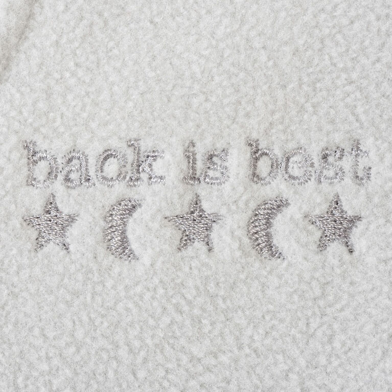 HALO SleepSack wearable blanket - Gris Heather - Coton - Tres grande.