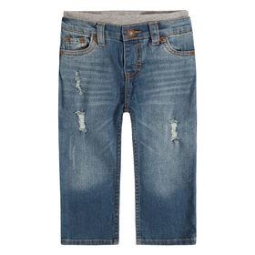 Levis Murphy pull on pants - Vintage Sky 24 months