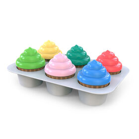 Bright Starts™ Sort & Sweet Cupcakes™ Shape Sorting Activity Toy