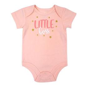 Rococo Bodysuit - Pink, 12-18 Months