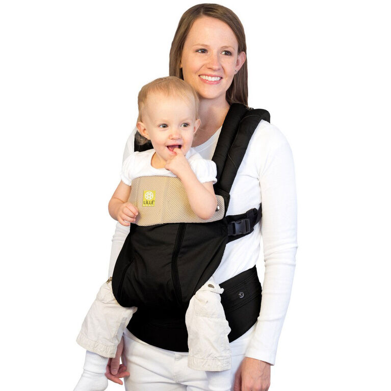 Lillebaby Carrier - Complete - All Seasons - Black and Camel