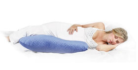 Jolly Jumper Boomerang Nursing Cushion - Blue